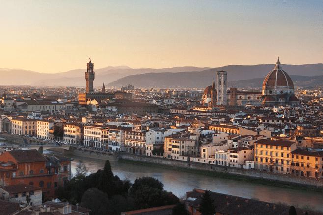 posto romantico a Firenze